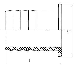 Чертеж наконечник НШ 100-108