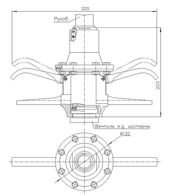 Захват мембранный ЗМ-6
