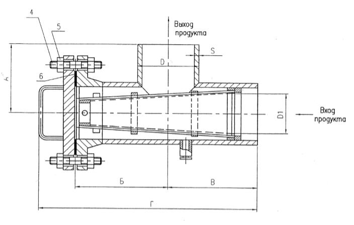 Фильтр сетчатый ФС-II